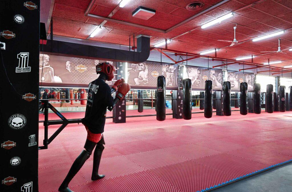 Kickboxing area
