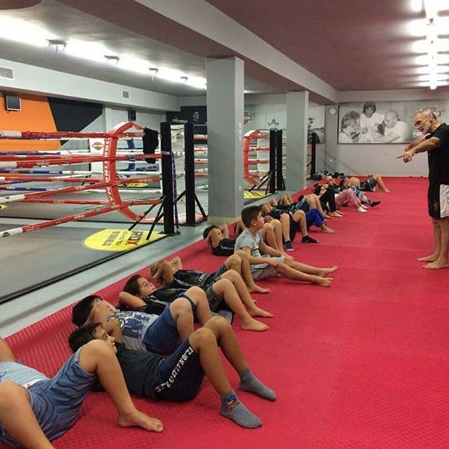 baby class kick boxing